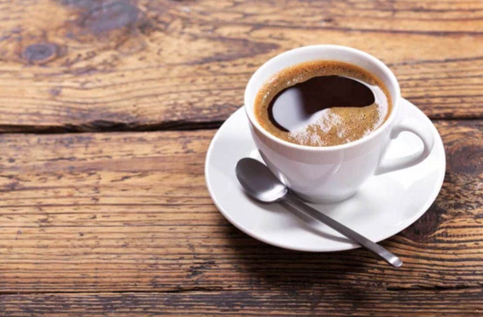 a perfect cup of coffee