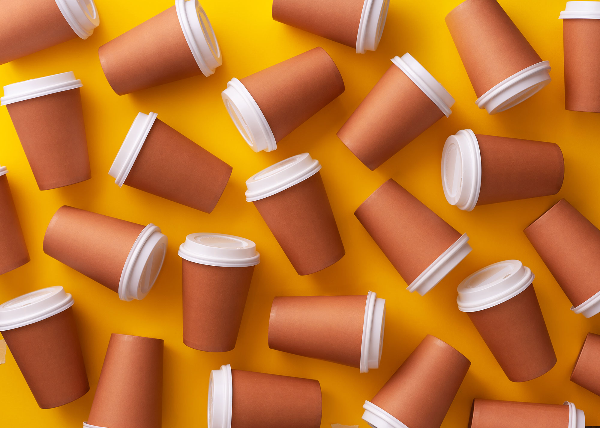 coffee cups made instant
